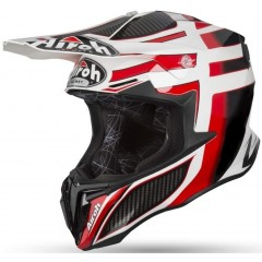 AIROH TWIST CARBON RED