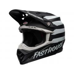BELL Moto-9 Mips čelada Fasthouse Signia Matte Black/Chrome