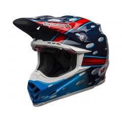 BELL Moto-9 Flex čelada McGrath Replica Gloss Blue/Red/Black