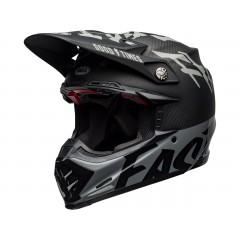 BELL Moto-9 Flex čelada Fasthouse WRWF Black/White/Gray