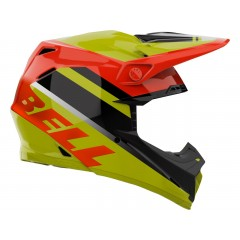 BELL Moto-9 Mips čelada Prophecy Gloss Yellow/Orange/Black