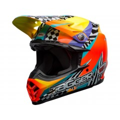 BELL Moto-9 Mips čelada Tagger Breakout Orange/Yellow