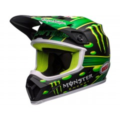 BELL MX-9 Mips čelada McGrath Showtime Replica Matte Black/Green