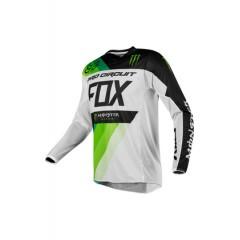 FOX 360 DRAFTR MONSTER/PC [WHT/GRN]MX18 SP. EDITION