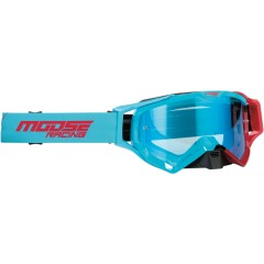 MOOSE RACING OČALA XCR HATCH OFFROAD BLU/RED