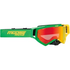 MOOSE RACING OČALA XCR HATCH OFFROAD GRN/YELLOW